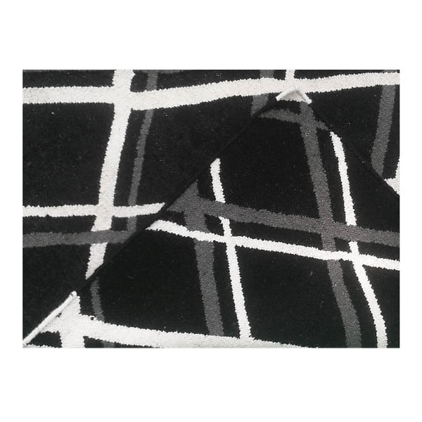Vlněný koberec Kilim Check, 165x230 cm
