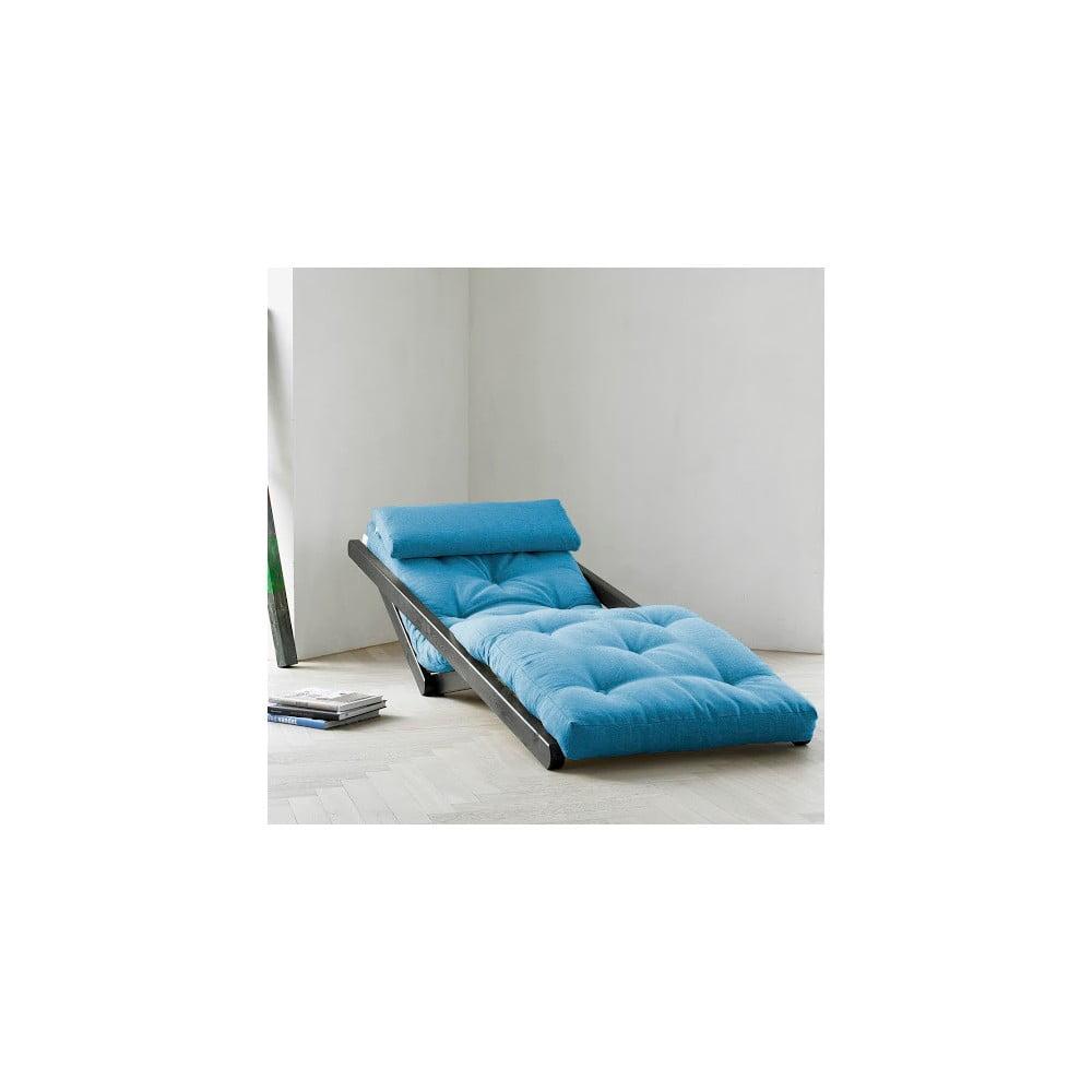 Lenoška Karup Figo Wenge/Horizon Blue, 70 cm