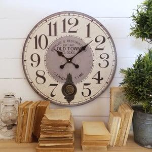 Nástěnné hodiny Orchidea Old Town