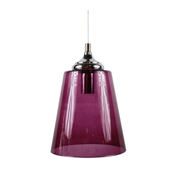 Závěsné svítidlo Lira, fialové