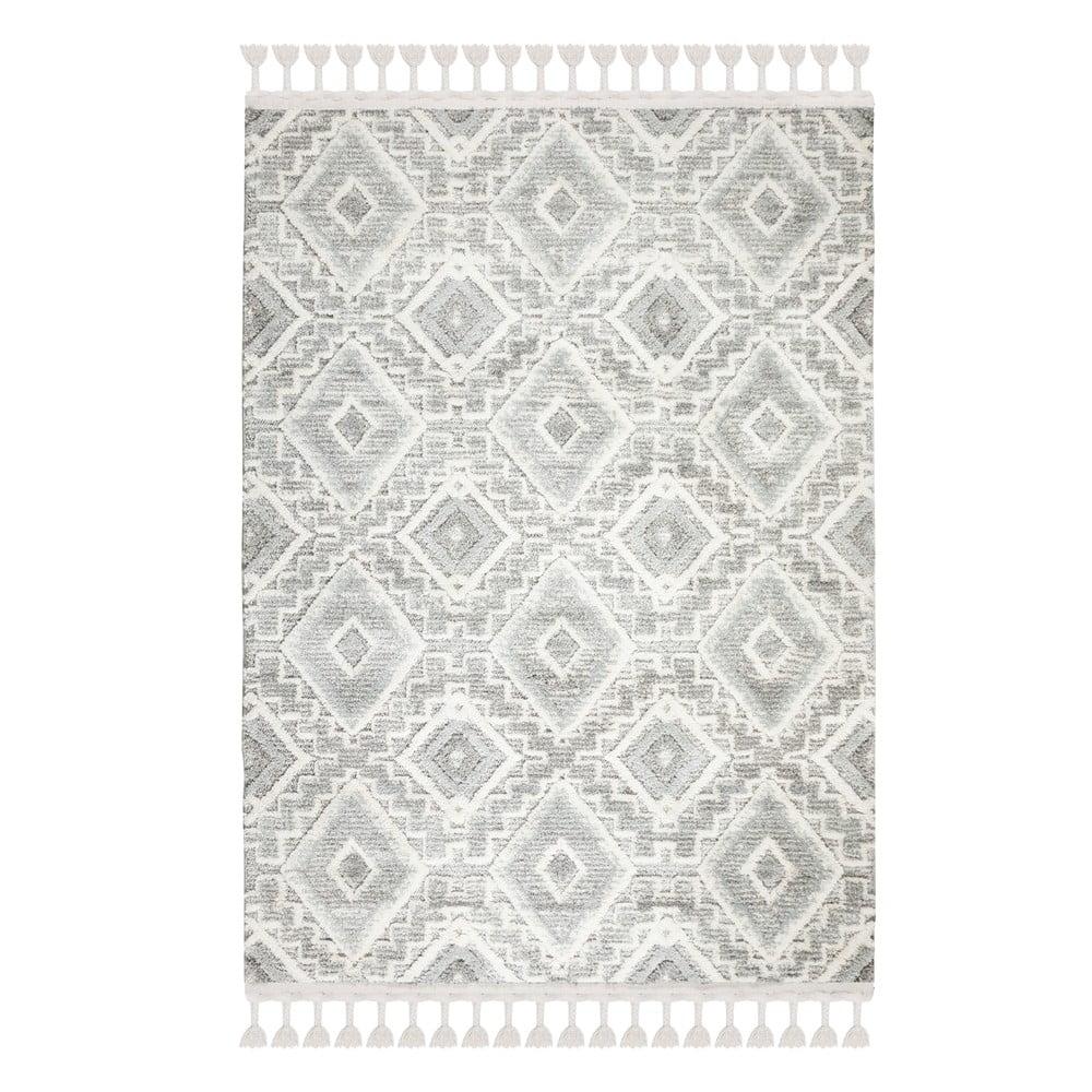 Šedokrémový koberec Flair Rugs Victoria, 80 x 150 cm