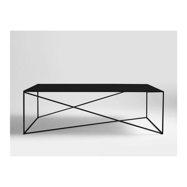 Černý konferenční stolek Custom Form Memo, délka140cm