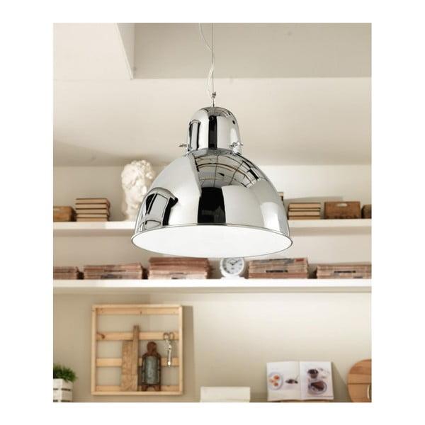 Závěsné svítidlo ve stříbrné barvě Design Twist Mohe
