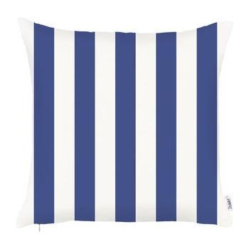 Față de pernă Apolena Sail Stripes, 43 x 43 cm, albastru de la Apolena