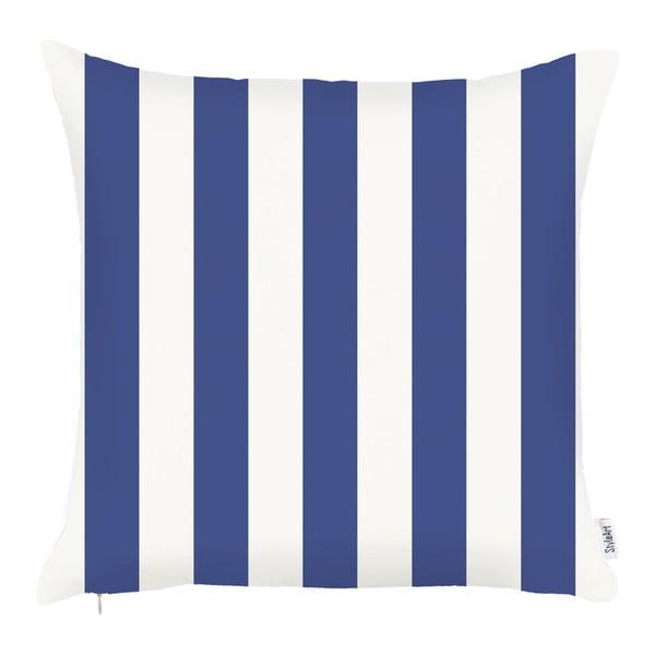Față de pernă Apolena Sail Stripes, 43 x 43 cm, albastru