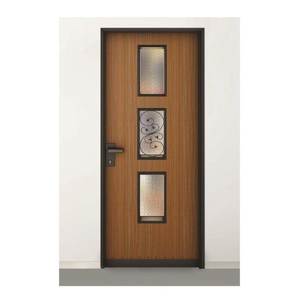 3D samolepky na dveře Délicat