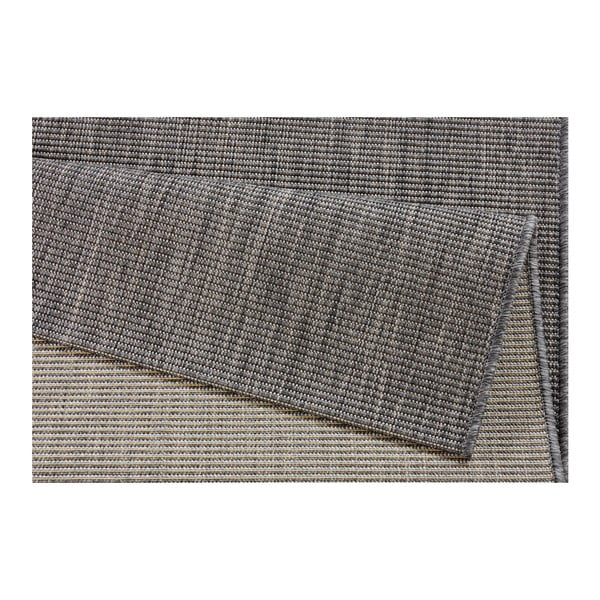 Šedý koberec vhodný do exteriéru Bougari Match, 120x170cm