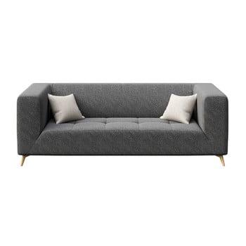 Canapea cu 3 locuri MESONICA Toro gri închis