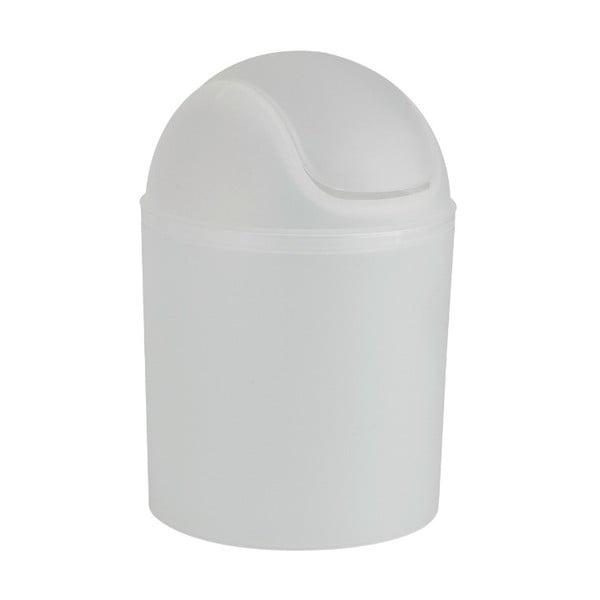 Biały kosz na śmieci Wenko Arktis, ⌀ 20 cm