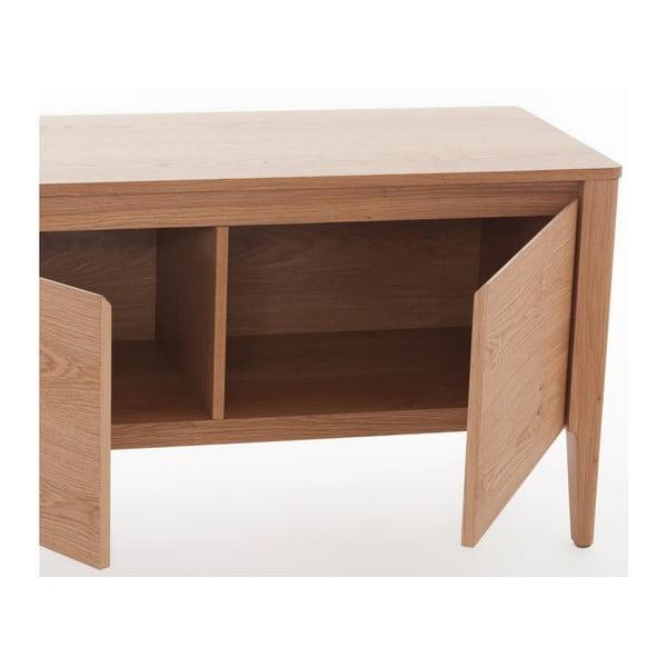 TV stolek z dubového dřeva Ángel Cerdá Simplicity