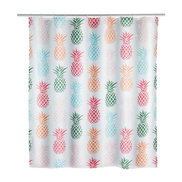 Perdea duș Wenko Pineapple, 180x200cm