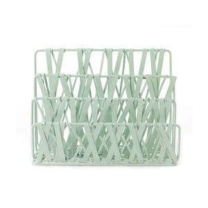 Stojan na dopisy Design Ideas Tangle Mint