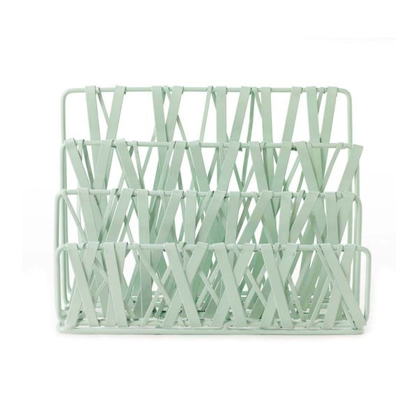 Stojan na dopisy Design Ideas Tangle Mint