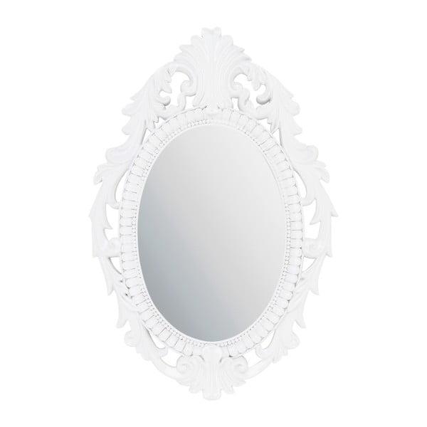 Závěsné zrcadlo 31x48 cm, bílé