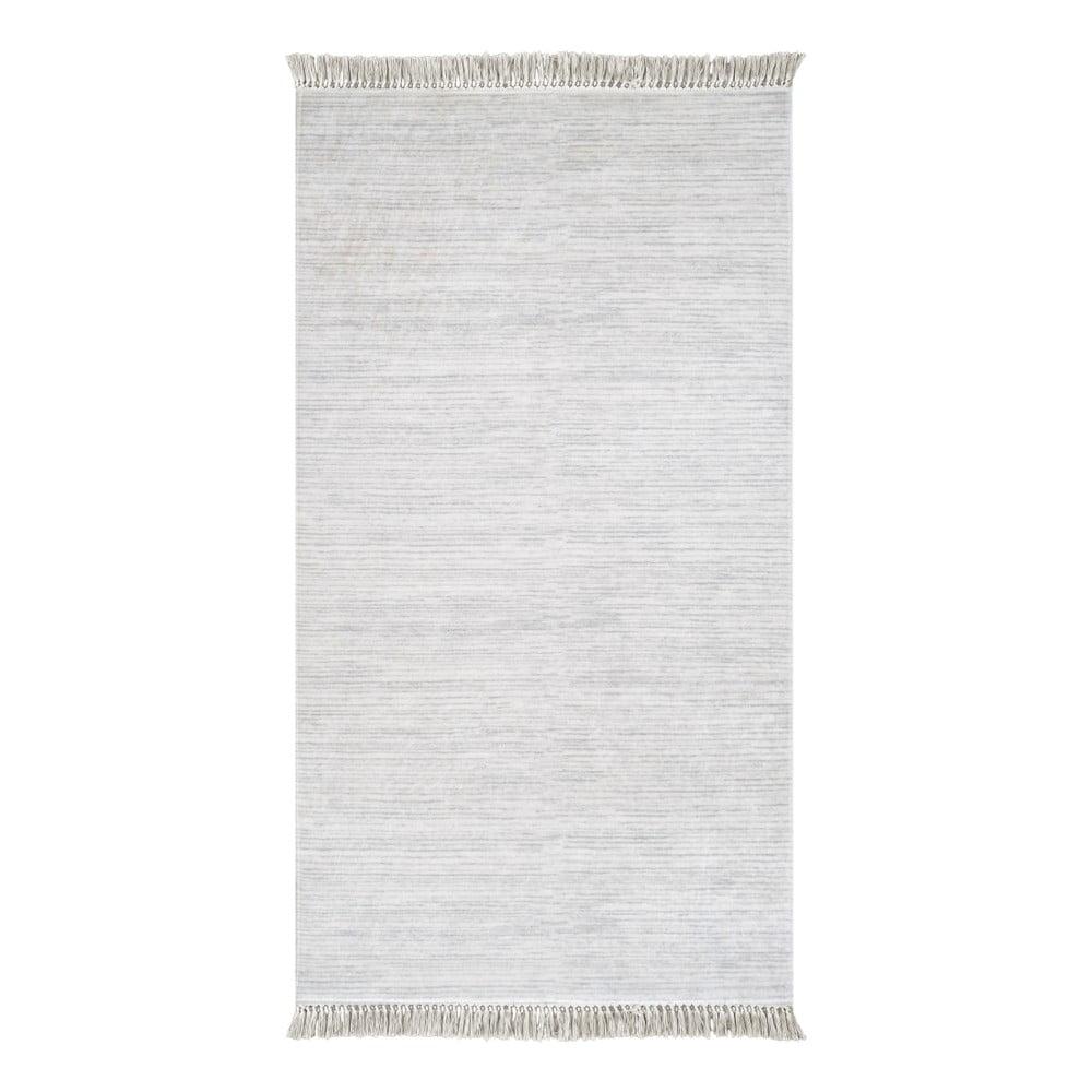 Šedý koberec Vitaus Hali Misma, 80 x 150 cm