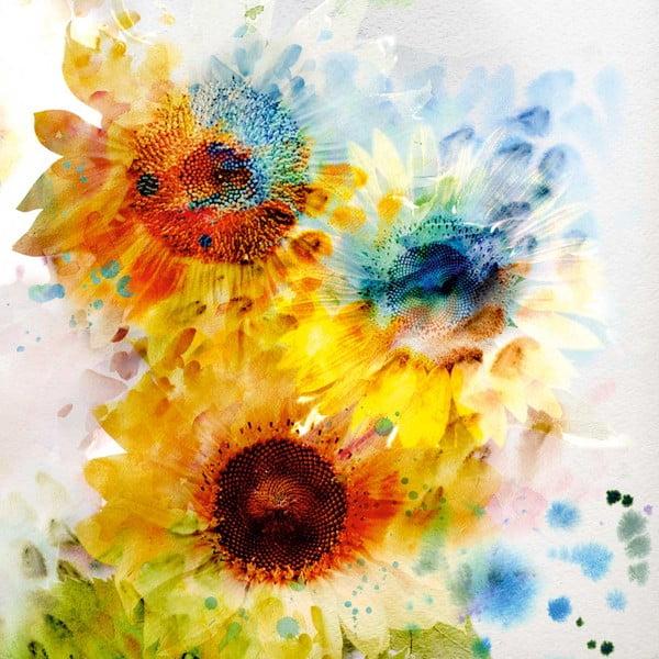 Tablou Flowers, 60 x 60 cm