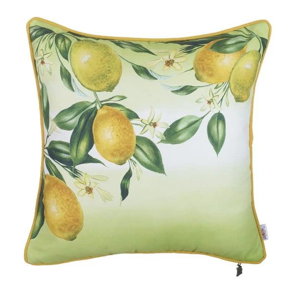 Poszewka na poduszkę Apolena Lemons, 43x43 cm