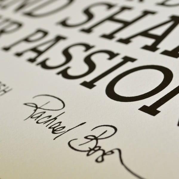 Plakát Manifesto, 46x61 cm