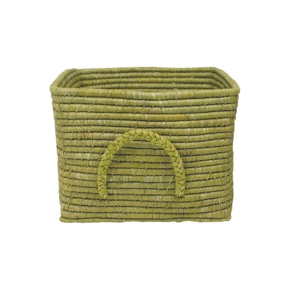 Olivový košík z rýžových vláken, 35 cm