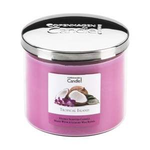 Lumânare parfumată Copenhagen Candles Tropical Island, 50 ore