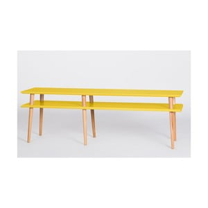 Žlutý konferenční stolek Ragaba Mugo,délka159cm
