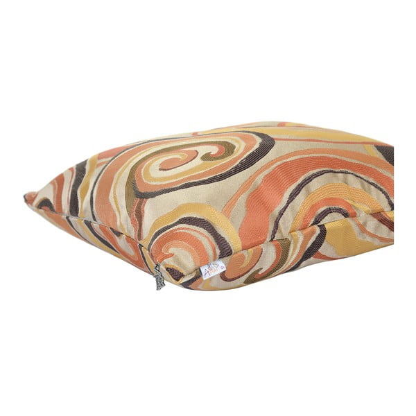 Povlak na polštář Apolena Silueta, oranžový