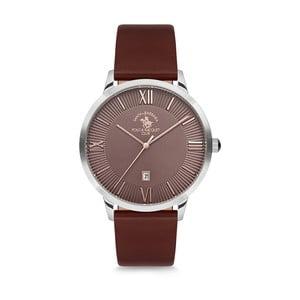 Pánské hodinky s koženým řemínkem Santa Barbara Polo & Racquet Club Jarosh