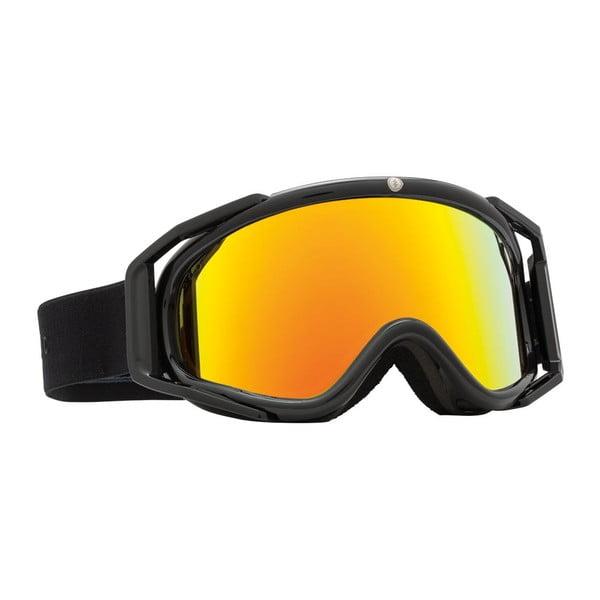 Dámské lyžařské brýle Electric RIG5 Gloss Black - Bronze Red, vel. M