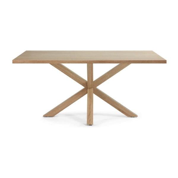 Jídelní stůl Arya, 180x100cm, dřevěné nohy
