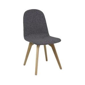 Polstrovaná jídelní židle z dubového dřeva Signal Ares