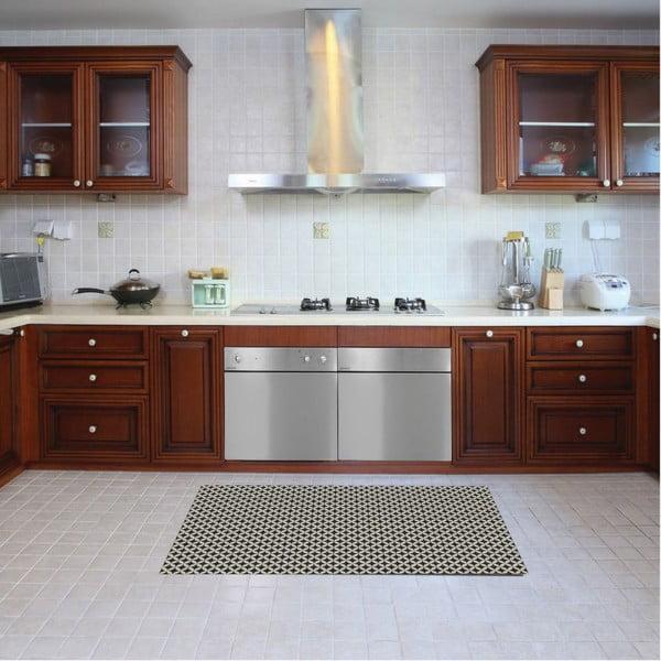 Vinylový koberec Afrah Grey, 52x280 cm