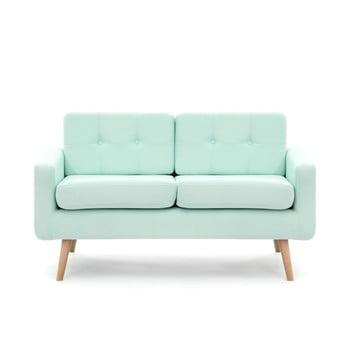 Canapea pentru 2 persoane Vivonita Ina, verde pastel de la Vivonita