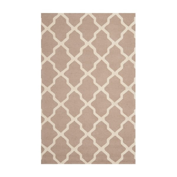 Vlnený koberec Ava Beige, 152x243 cm