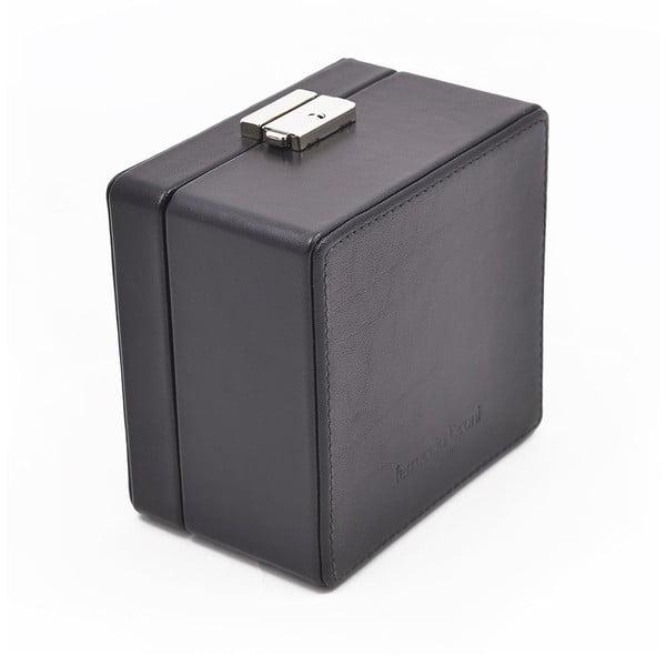 Kožený box na hodinky Ferruccio Laconi Black