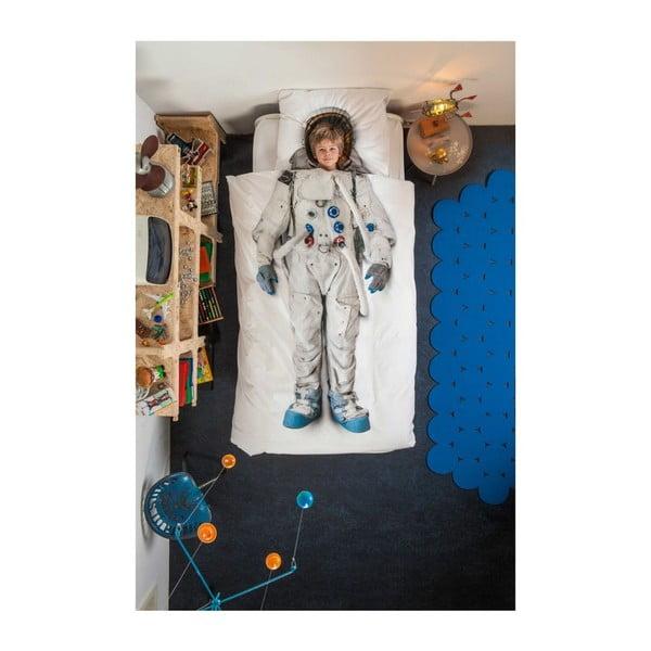 Bavlněné povlečení na jednolůžko Snurk Astronaut, 135 x 200 cm