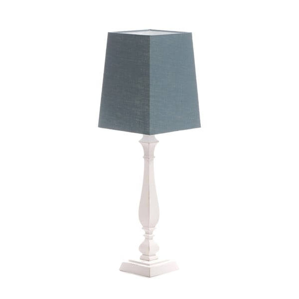 Stolní lampa Tower Light Blue/Washed White, 66 cm