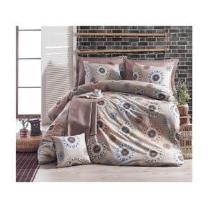 Lenjerie de pat cu cearșaf Orlina, 200 x 220 cm