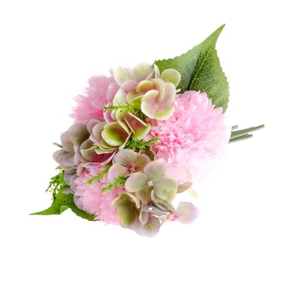 Sztuczny kwiat dekoracyjny w stylu piwonii i hortensji Dakls