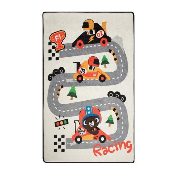 Detský koberec Race, 100 × 160 cm