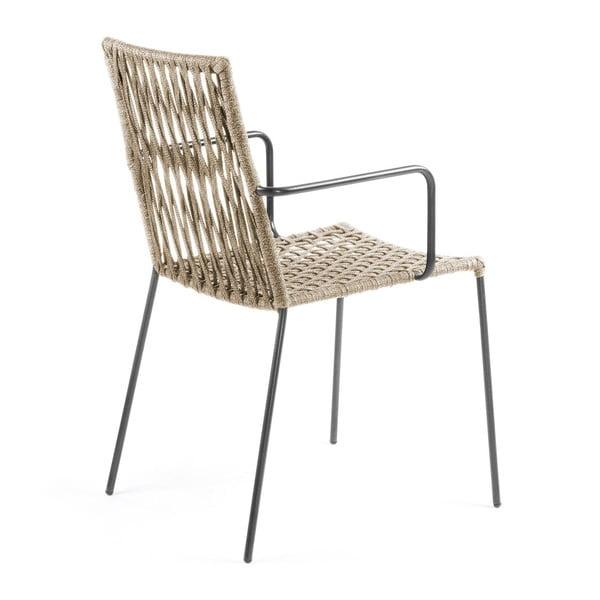 Sada 4 béžových židlí La Forma Bettie