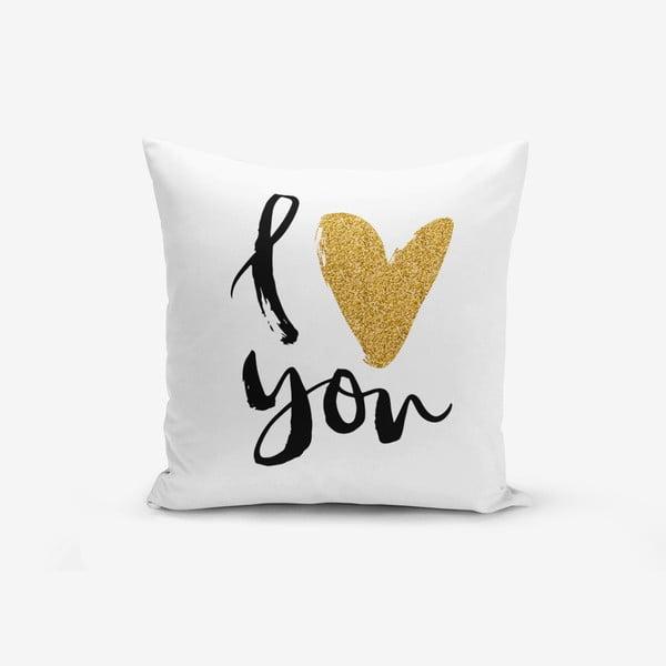 Poszewka na poduszkę z domieszką bawełny Minimalist Cushion Covers, 45x45 cm