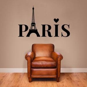 Samolepka na stěnu Paris Lettering