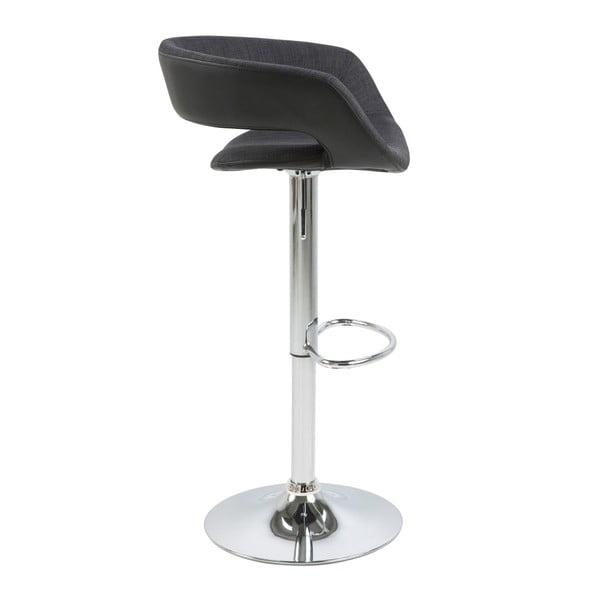 Sada 2 černých barových židlí Actona Grace