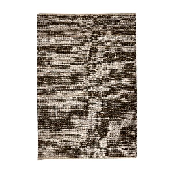 Konopný koberec Coastal Natural/Brown, 160x230 cm