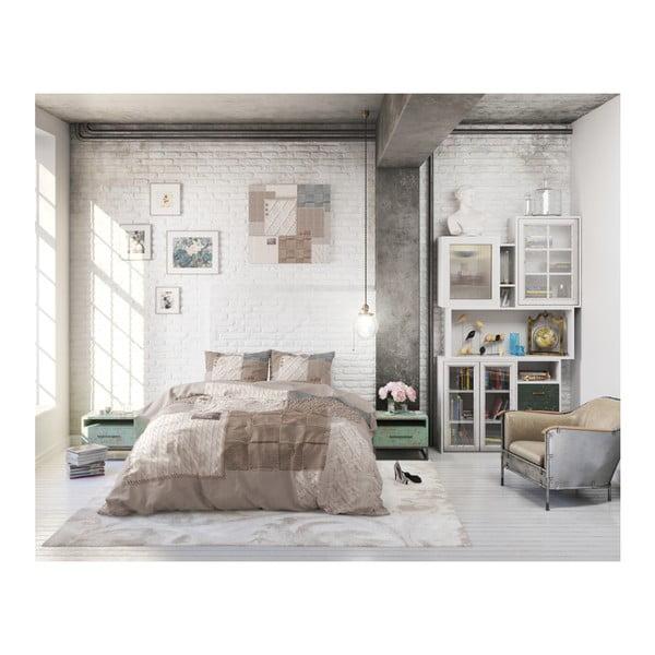 Bavlněné povlečení na jednolůžko Sleeptime Knitted Home, 140 x 220 cm