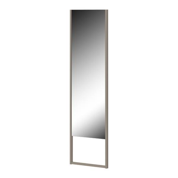 Stojací zrcadlo s šedým rámem Germania Monteo, výška194cm