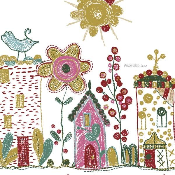 Povlečení Embroidery, 200x200 cm