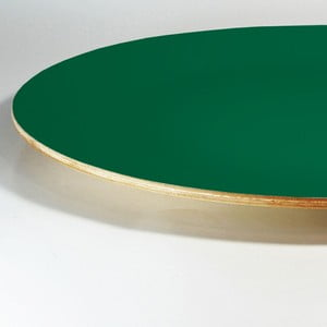 Dřevěný talíř Green