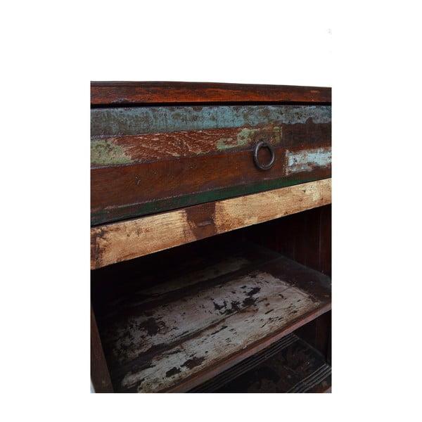 Dřevěná komoda Goa, 61 cm
