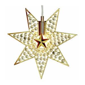 Závěsná svítící hvězda Gyling, 30 cm